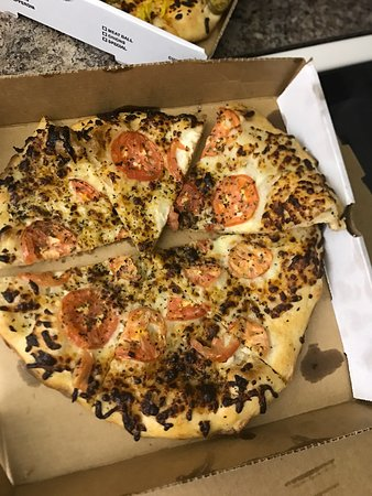 Island Pizza: Very disappointed. Cold when delivered. Delivery took over an hour when told 30 minutes.