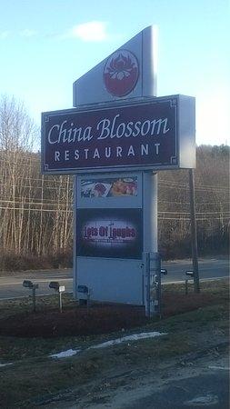 North Andover, MA: The sign at China Blossom