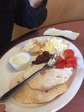 Bedoian's Bakery & Bistro: Mediterranean breakfast platter