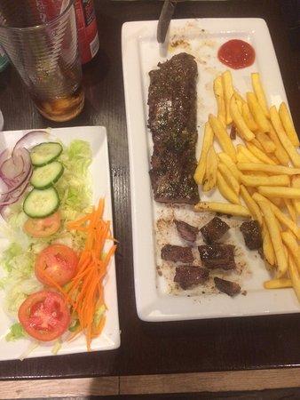 Pachamamma : Steak was delicious