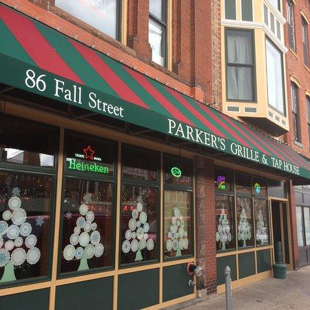 Seneca Falls, Nowy Jork: Front awning