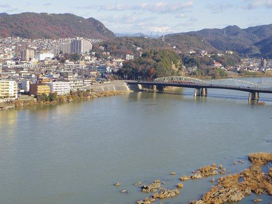 Kiso River : 犬山城より