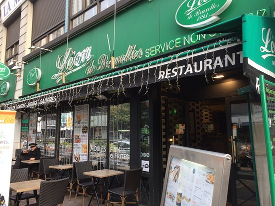 Salade leon photo de l on de bruxelles paris porte maillot paris tripadvisor - Restaurant fruit de mer porte maillot ...