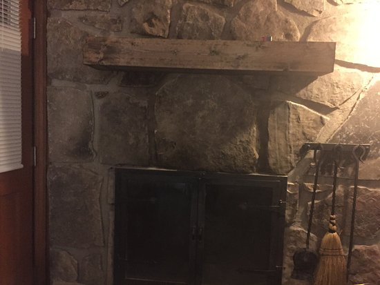 Black Soot On Fireplace Mantle Room Has Strong Smoke Smell Even