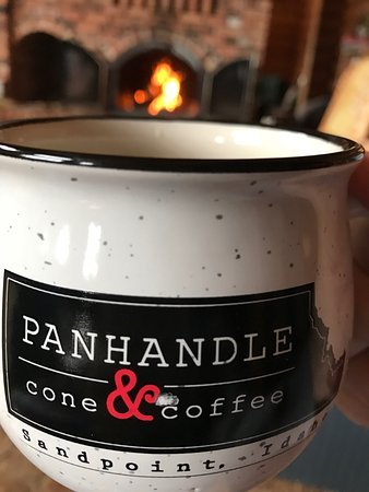 Sandpoint, ID: Panhandle Cone & Coffee