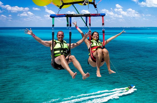 Parasailing in Cancun Including...