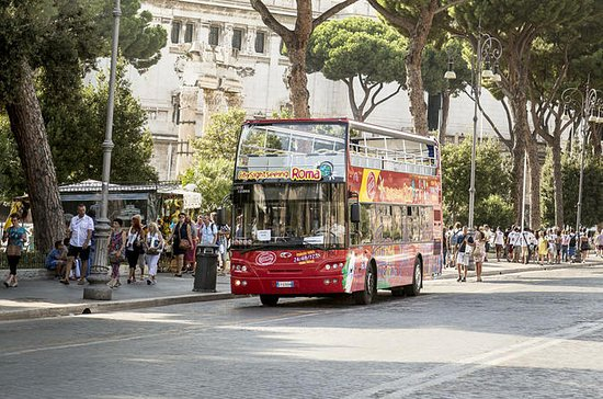 ドミティッラ地下共同墓地とローマの乗り降り自由ツアー