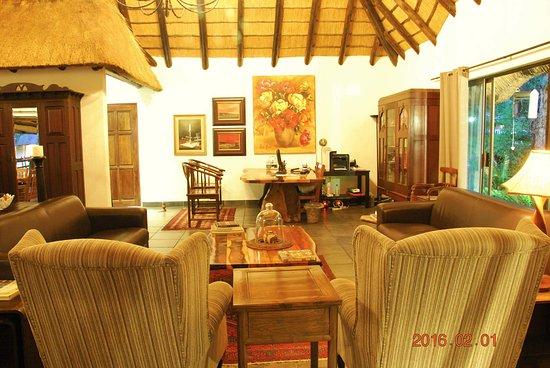 Acasia Guest Lodge: Receiption