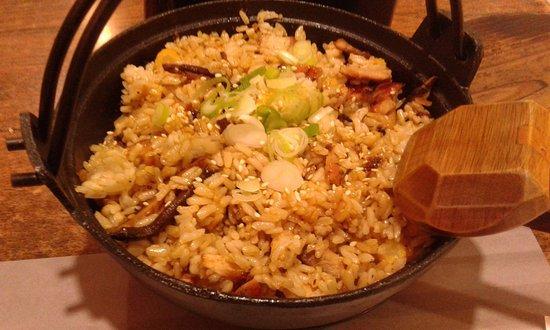 Teriyaki Boy: brown rice