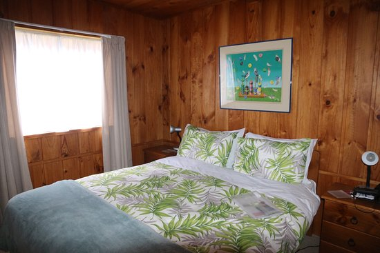 Tapu, New Zealand: Bedroom in the cottage