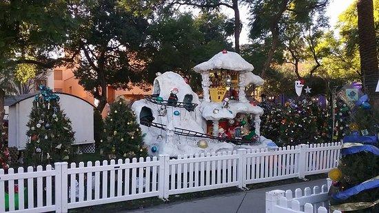 Plaza de Cesar Chavez Park: Christmas in the Park, San Jose