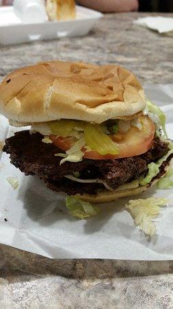 Mustang, OK: KV burger