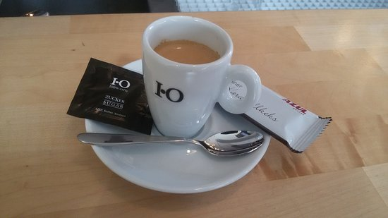 Duren, Germany: Starting the day with a nice cup of coffee
