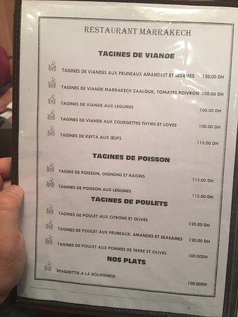 Restaurant Marrakech: photo1.jpg