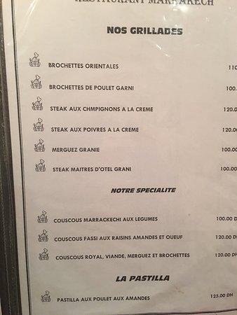 Restaurant Marrakech: photo2.jpg