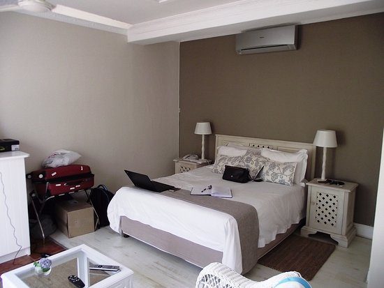 """The Robberg Beach Lodge: Typical room in """"Cottage pie"""""""