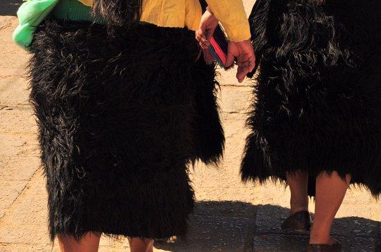 Plaza de la Paz  Las faldas de las mujeres chamula (maya etnia tzotzil) bdc062d928c7
