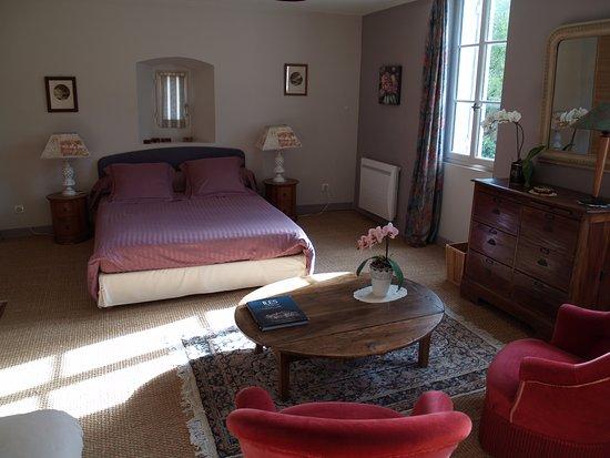 "Monpazier, Francia: chambre ""lilas"""