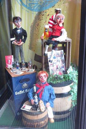 Gaffel am Dom: window display