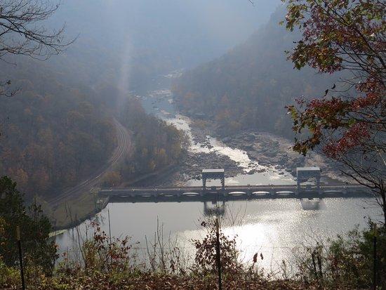 Ansted, Virginia Occidental: Hawks Nest Dam