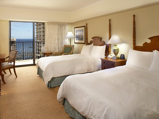 Hilton Hawaiian Village Waikiki Beach Resort: Kalia Tower - King Ocean View