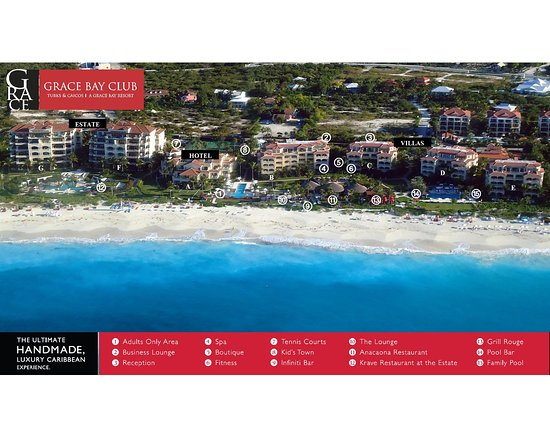 Resort Map  Picture of Grace Bay Club Providenciales  TripAdvisor