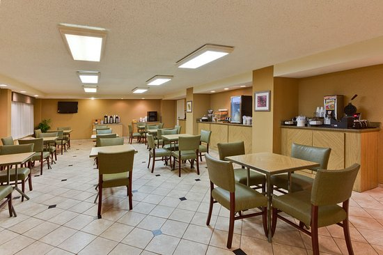 La Quinta Inn Tampa Near Busch Gardens: Breakfast Area