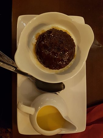 Winchelsea, UK: Sticky toffee pudding