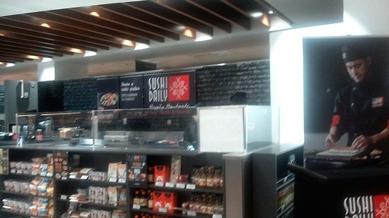 Sushi Daily Staff Prepare Food Fresh Onsite Byres Rd