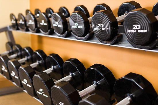 Hilton Woodland Hills/Los Angeles: Fitness Center Free Weights