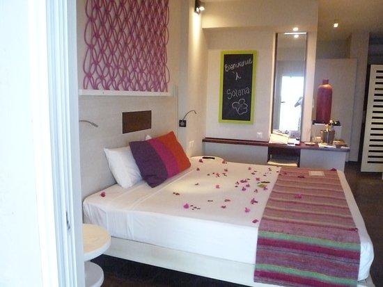 Solana Beach: chambre lumineuse et grand lit