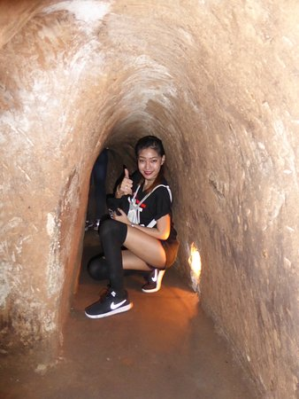 Image result for cu chi tunnel