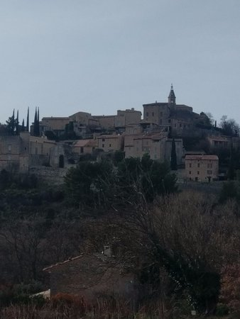 Crillon-le-Brave, ฝรั่งเศส: On the walk back from Bedoin