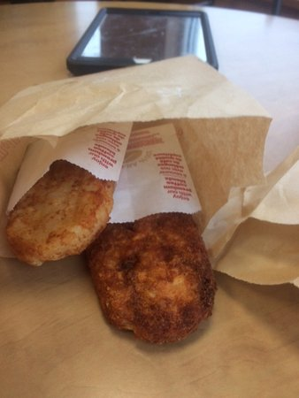 Dieppe, Canada: Hash browns,