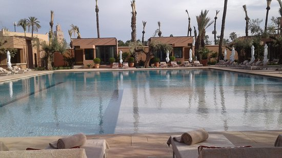Royal Mansour Marrakech: Great pool open to day pass as well