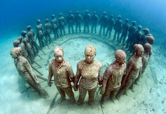 Grenada: Underwater Sculpture Park