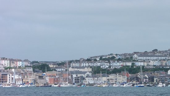 View back to Falmouth