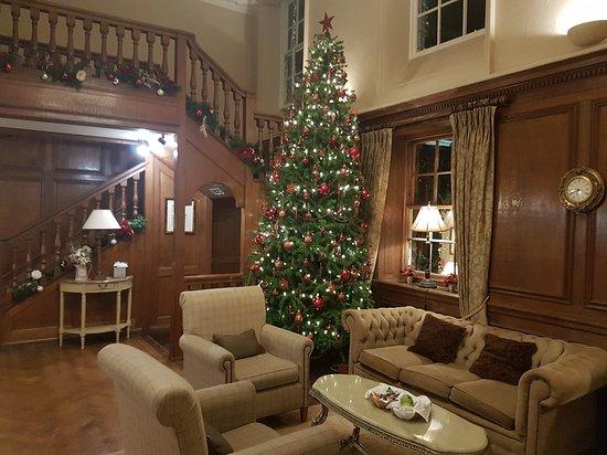 Cadnam, UK: Christmas at Bartley Lodge.