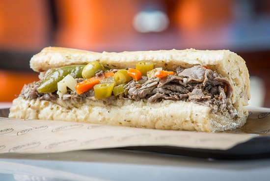 Hillside, IL:  Original Buona Beef Sandwich