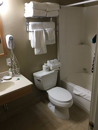 Sioux Lodge At Grand Targhee Resort : Full bath on basement level