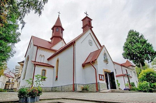 Truskavets, Ucrânia: Assumption Church of Blessed Virgin Mary