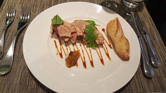 Fois gras Picture of Ecole de Cuisine de l Institut Paul Bocuse #1: fois gras