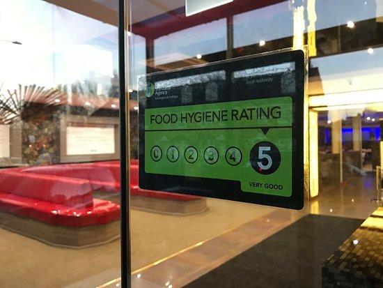 ziryab executive buffet 5 food hygiene rating