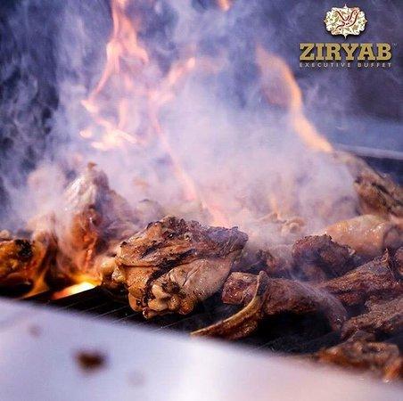 ziryab executive buffet lamb chops freshly prepared to taste ziryab executive buffet 5 food hygiene rating