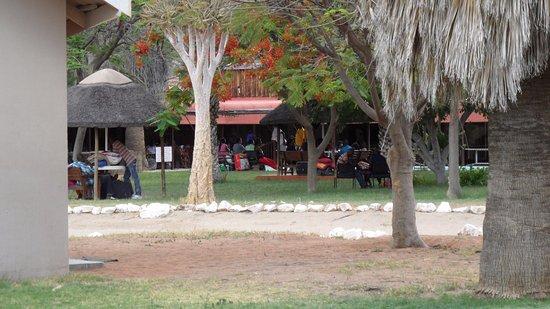Khorixas, Namibia: Trainees wachtend op instucties!!!