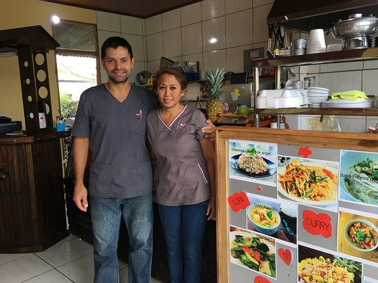 San Ramon, Costa Rica: They speak excellent English also.