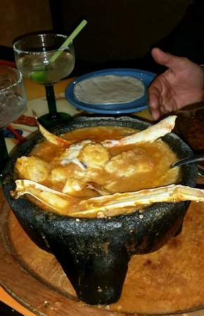 Basalt, CO: Seafood Molcajete - delish