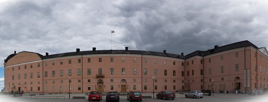 Uppsala, Sweden: A Panoramic View on the Castle