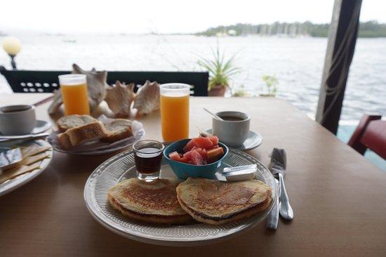Hotel Olas: breakfast pancakes