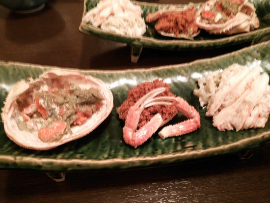 Sabae, Japonia: 旬のセイコウガニをいただきました